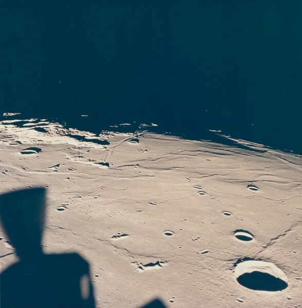 Apollo 11 View of Moon