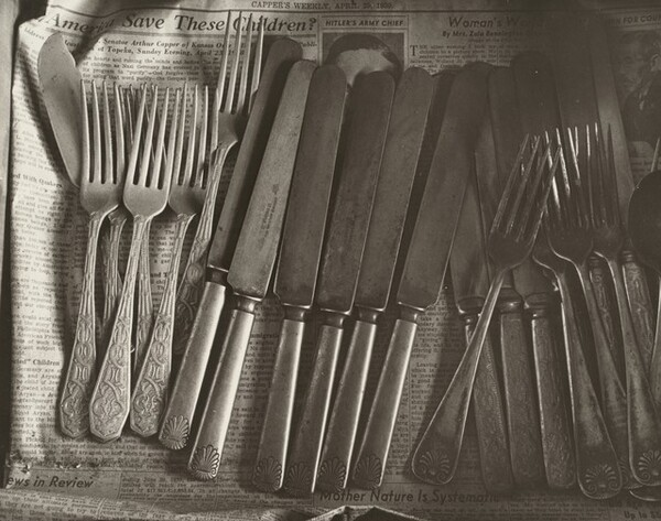 Drawer with Silverware