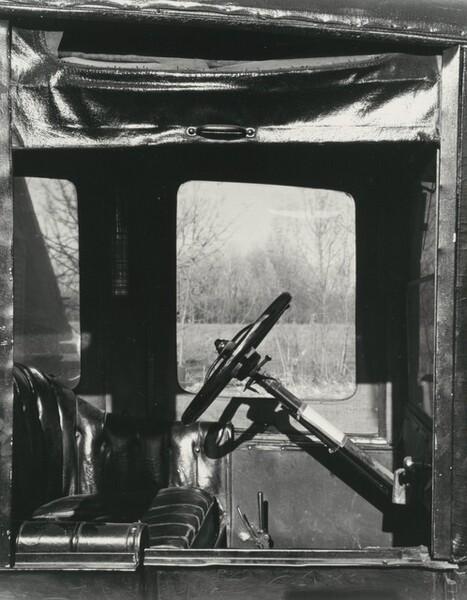 Front Seat, Model T, near Norfolk, Nebraska