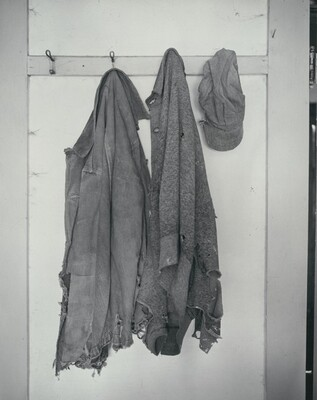 Clothing on Hooks, Norfolk, Nebraska