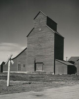 Grain Elevator, Eastern Nebraska
