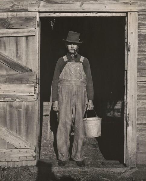 Uncle Harry, outside Norfolk, Nebraska