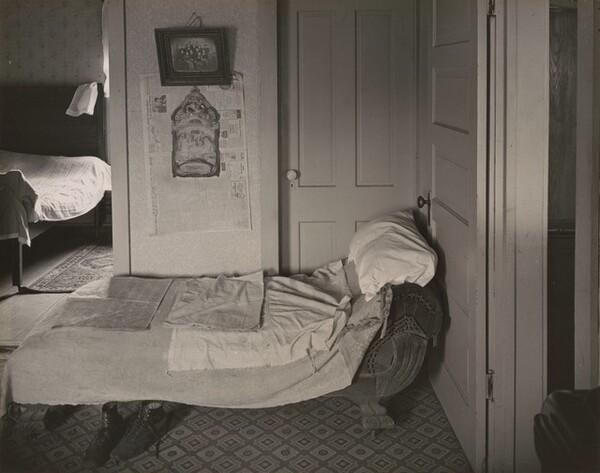 View into Bedroom, Ed's Place near Norfolk, Nebraska