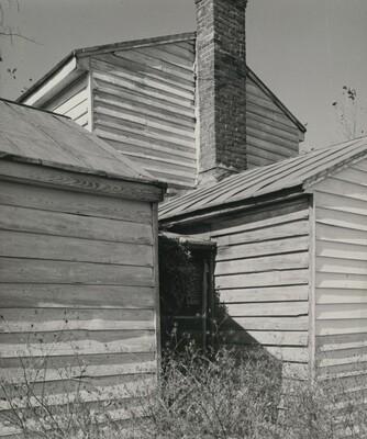 Corner of Clapboard Farm House