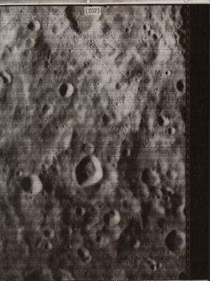 Moon's Backside Photographed