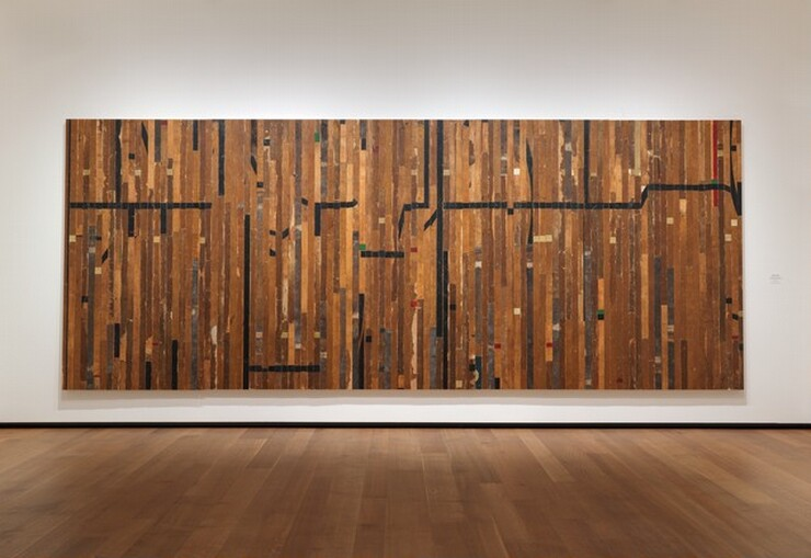 Theaster Gates, Ground Rules (black line), 20152015
