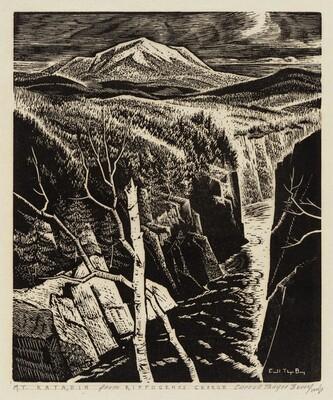 Mt. Katahdin - from Ripogenos Gorge