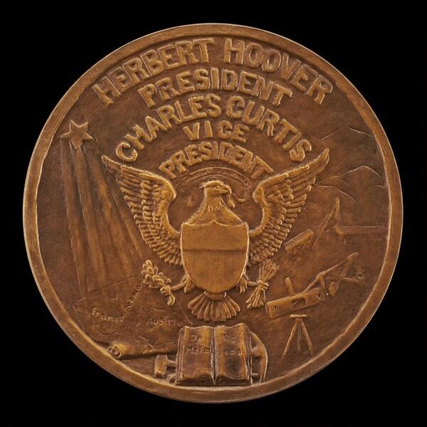 Herbert Hoover Inaugural Medal [obverse]