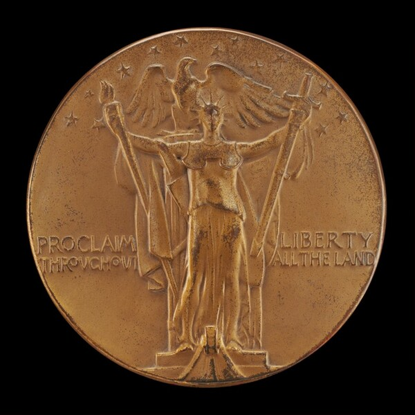 The Official George Washington Bicentennial Commemorative Medal [reverse]