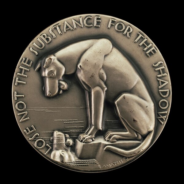 Aesop's Fables: A Dog and a Shadow [reverse]