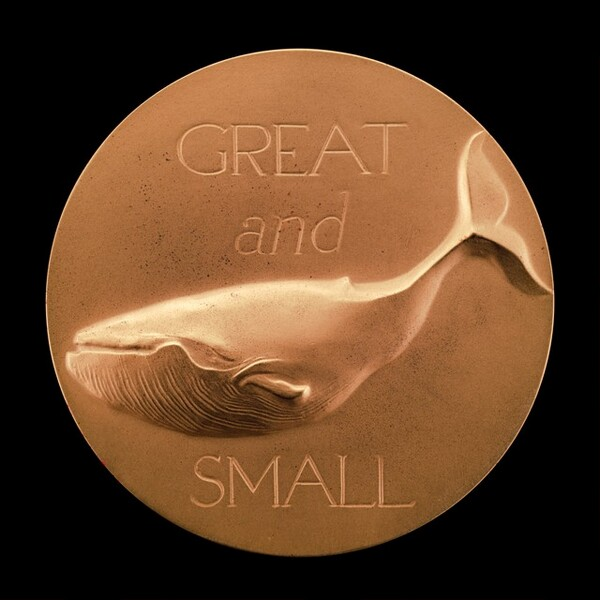 All Creatures Great and Small: Blue Whale [reverse]