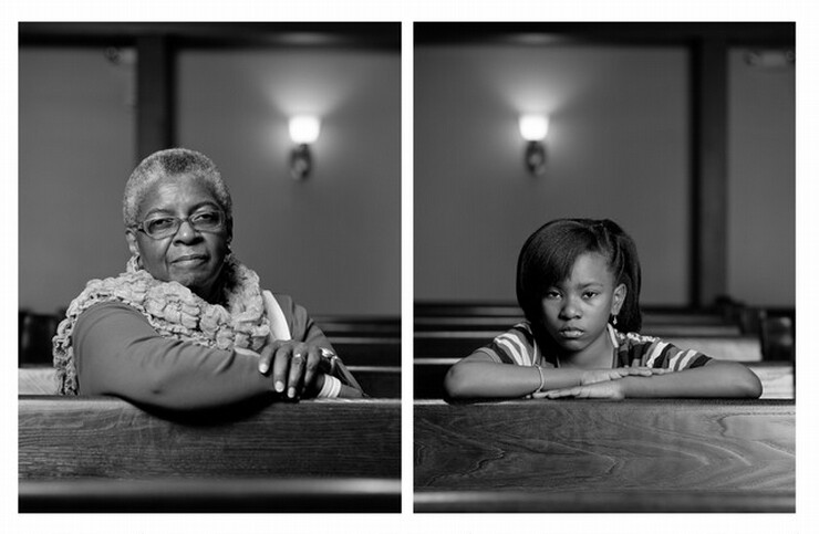 Dawoud Bey, Mary Parker and Caela Cowan, 2012, printed 2014
