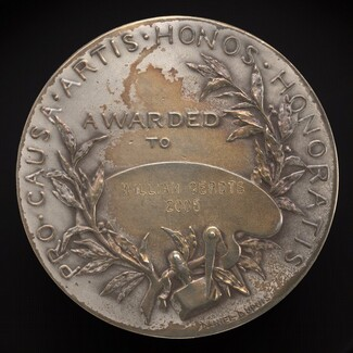 Pennsylvania Academy of the Fine Arts Founder's Medal (reverse)