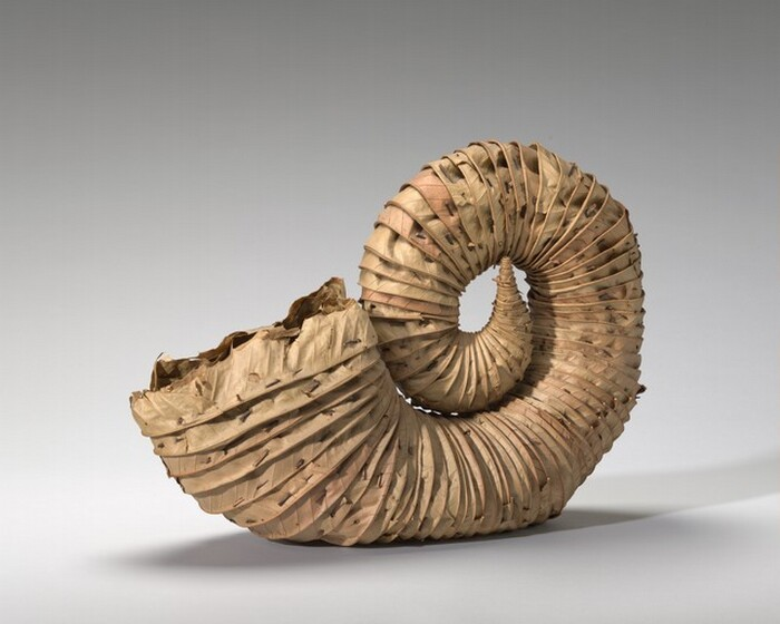 Andy Goldsworthy, Leafhorn, 1994