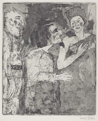 Woman, Man, and Servant (Frau, Mann, Diener)