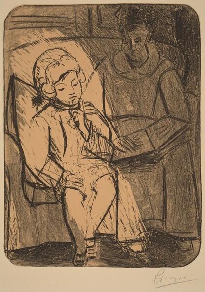 The Reading (La lecture)