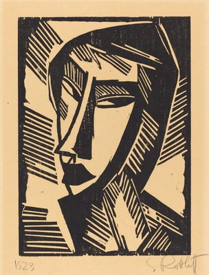 Head of a Woman (Weiblicher Kopf)