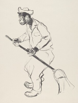 Man with a Broom