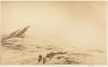 Hermon: Cavalry Moving on Damascus