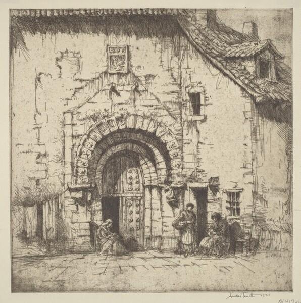 A Doorway in Segovia
