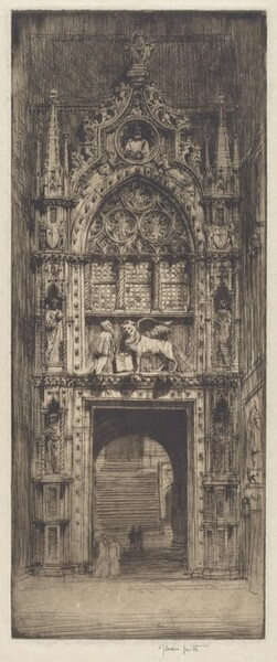 Doorway of the Doge's Palace, Venice