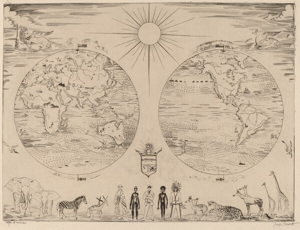 Map of the World (Mappe monde)