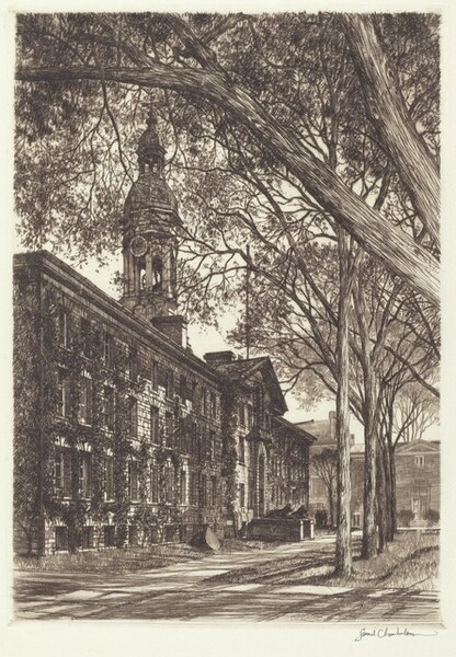 Old Nassau Hall, Princeton