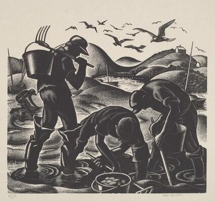 Clam Diggers, Cape Cod