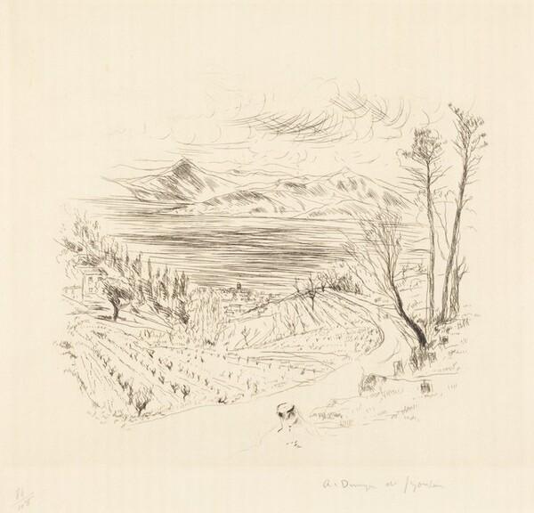Saint-Tropez Landscape (Paysage Tropezien)