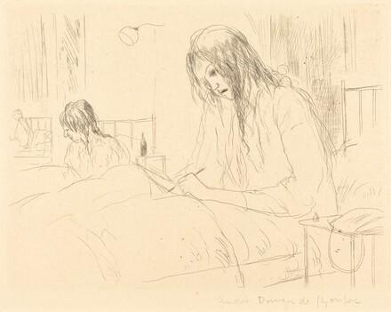 Berthe at the Hospital, The Letter (Berthe a l'hopital: la lettre)