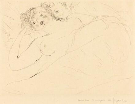 Berthe's Sister with a Lover (La Soeur de Berthe avec un amant)