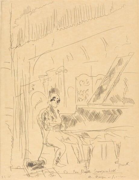 Clown at the Piano