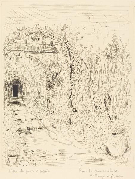 L'allee du Jardin de Colette