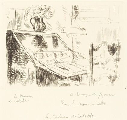 Le bureau de Colette (Colette's Desk)