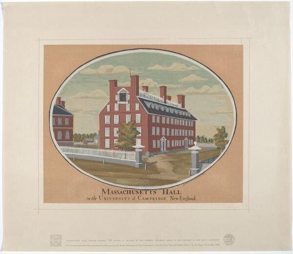Massachusetts Hall, Harvard College