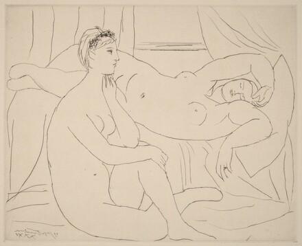 Two Nudes at Rest (Femmes se reposant)
