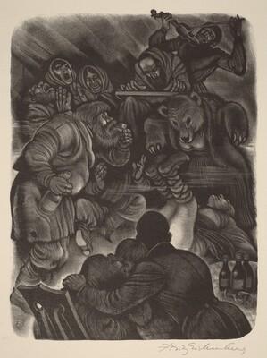 The Orgy (Book VIII: Mitya, facing p.336)