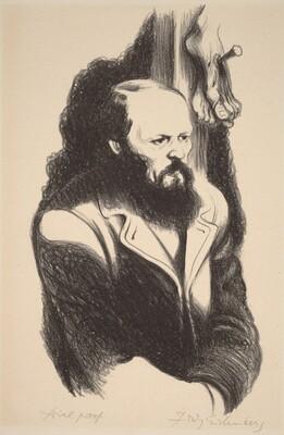 Dostoevsky [illustration for Book V, chap. V: The Grand Inquis]