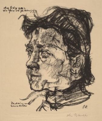 Romana Kokoschka - The Artist's Mother