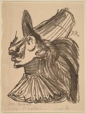 Illustration to Cervantes, Don Quixote