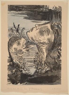 Illustration to Voltaire, La Princesse de Babilone