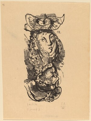 Illustration to Voltaire, Candide