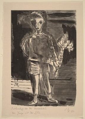 Der Junge mit der Lilie
