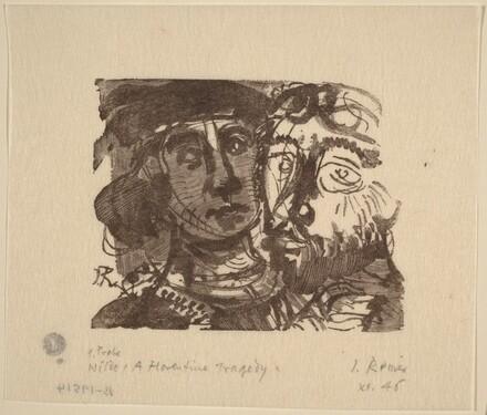 Illustration to Wilde, A Florentine Tragedy