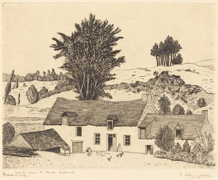 Moulin dans la lande Bretonne