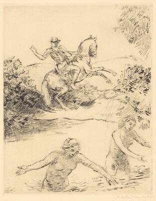 Reiter und Frauen