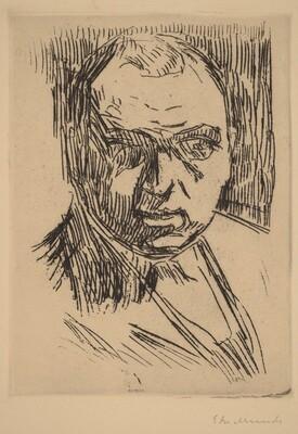 Half-Length Portrait of a Man (Brustbild eines bartlosen Mannes)