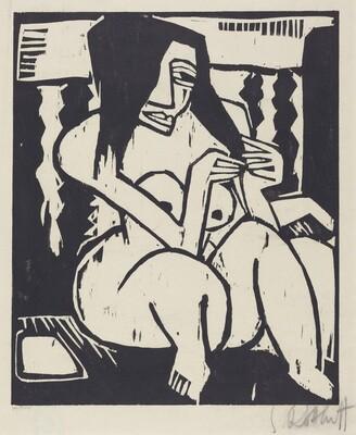 Woman with Unbound Hair (Frau mit aufgelostemHaar)