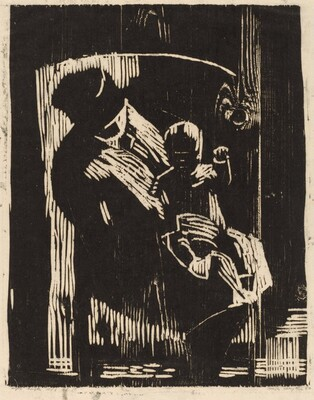 Mother and Child, Seated
