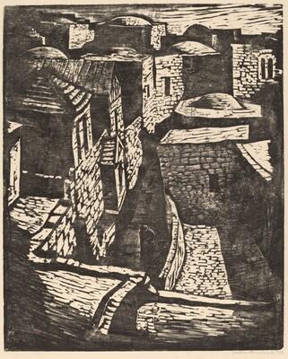 Street in Old Part of Jerusalem